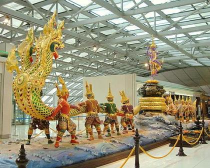 Bangkok Suvarnabhumi International Airport